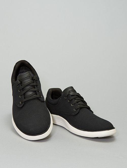 Zapatillas deportivas bajas de tela 'Skechers'                             negro