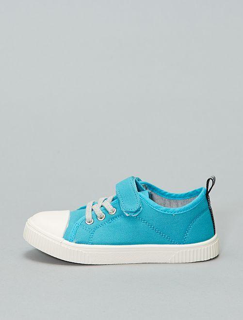 Zapatillas deportivas bajas de tela                                                     VERDE Zapatos