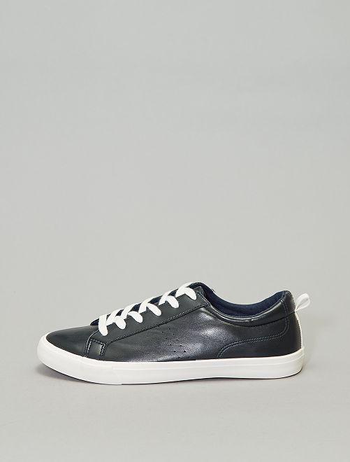 Zapatillas deportivas bajas lisas                                                     azul navy