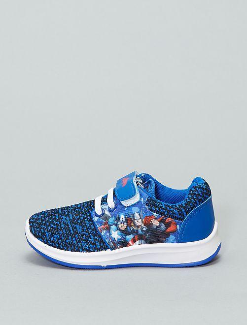 Zapatillas deportivas bajas 'Los Vengadores'                             AZUL Zapatos
