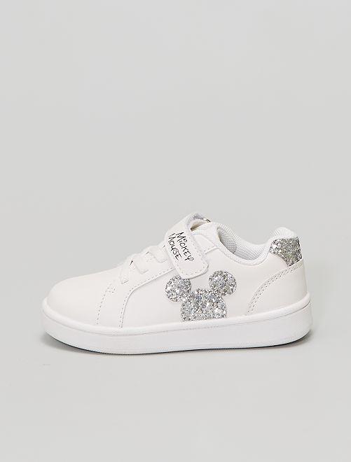 Zapatillas deportivas bajas 'Mickey'                             blanco