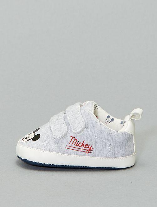 Zapatillas deportivas bajas 'Mickey'                                         gris