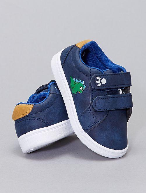 Zapatillas deportivas bajas sintéticas                             azul navy