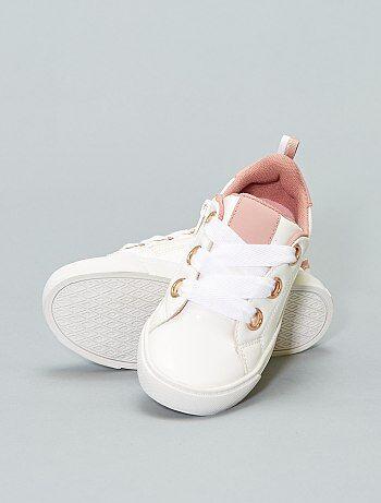 Zapatillas deportivas bajas sintéticas - Kiabi