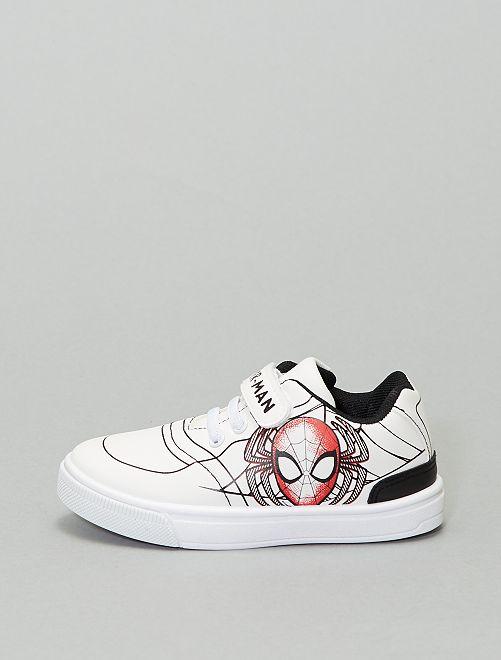 Zapatillas deportivas bajas 'Spider-Man' de 'Marvel'                             blanco