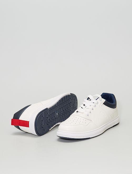 Zapatillas deportivas blancas                             BLANCO