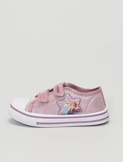 Zapatillas deportivas brillantes 'Frozen' 'Disney'                             ROSA