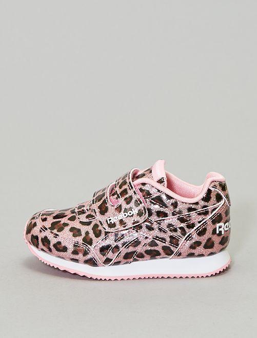 Zapatillas deportivas brillantes 'leopardo' 'Reebok'                             ROSA Chica