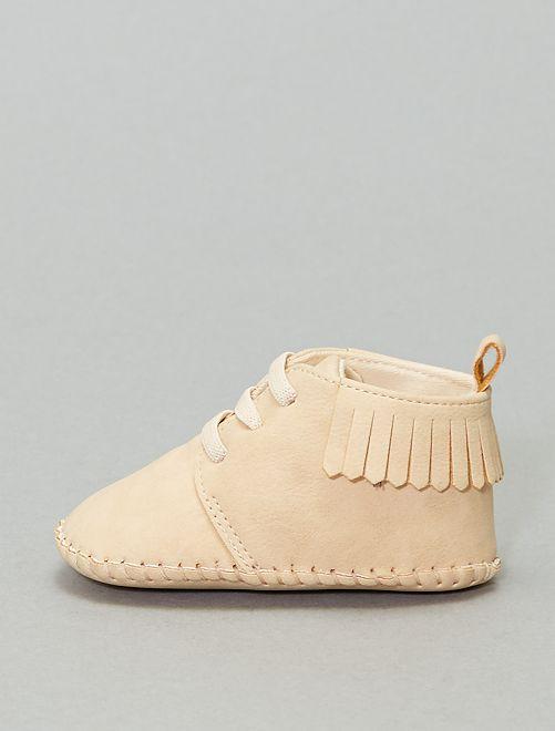 Zapatillas deportivas con flecos                             BLANCO