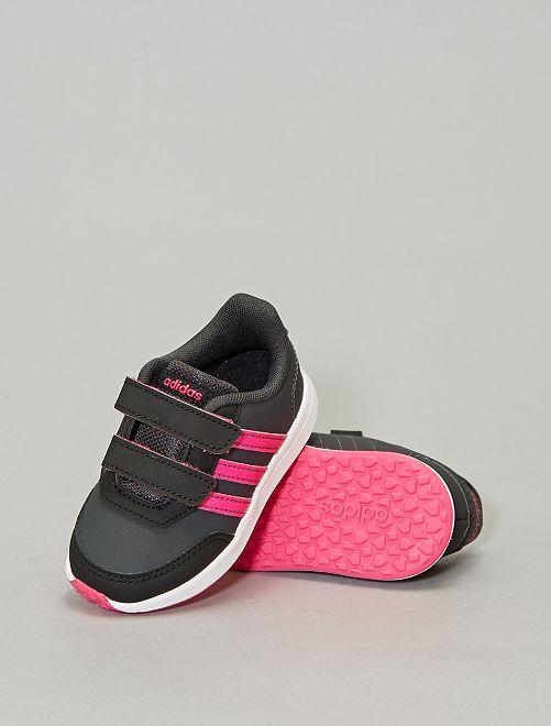Zapatillas deportivas con velcro 'Adidas'                             NEGRO Chica