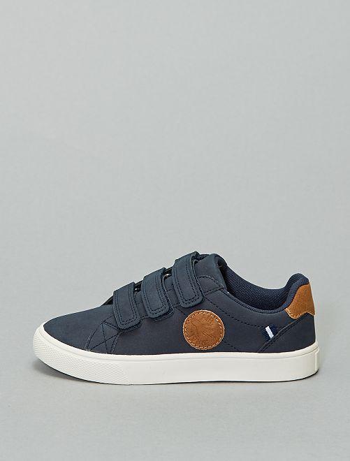 Zapatillas deportivas con velcro                                         azul navy