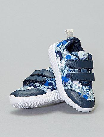 179bb6a37 Zapatillas deportivas con velcro  Mickey  - Kiabi