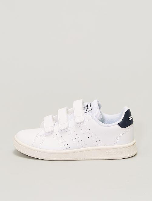 Zapatillas deportivas con velcros 'adidas Advantage C'                             BLANCO