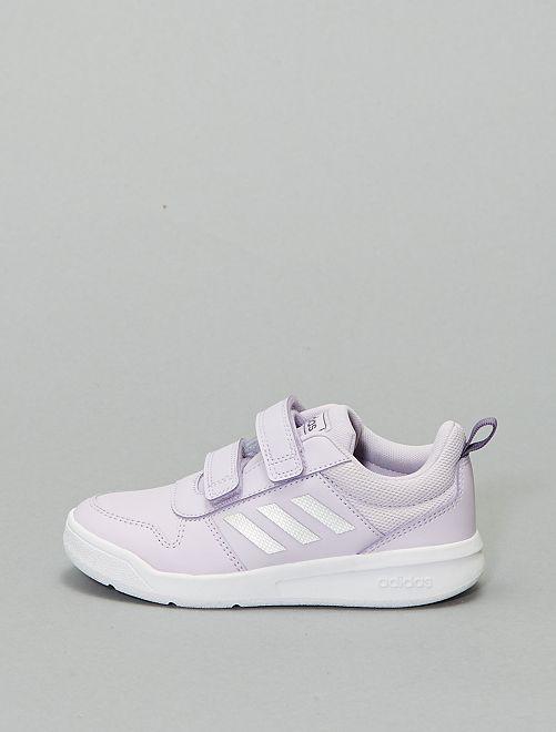 Zapatillas deportivas con velcros 'Adidas Tensaur'                             PURPURA