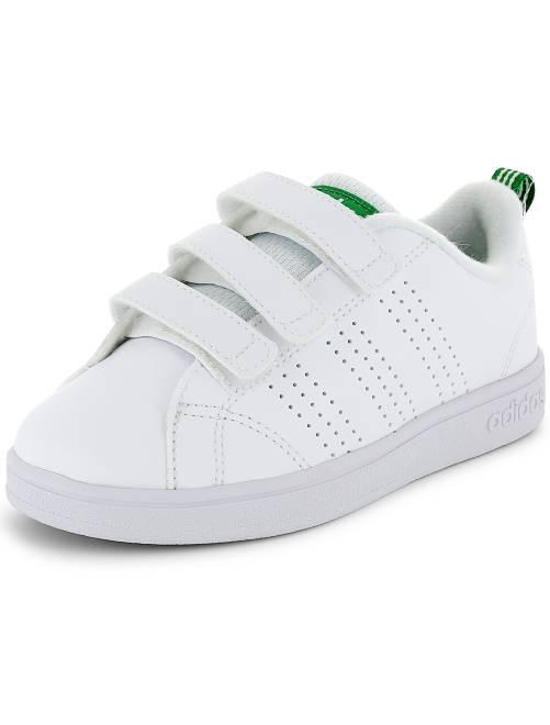 Zapatillas deportivas con velcros 'Adidas VS Advantage Clean'                     blanco