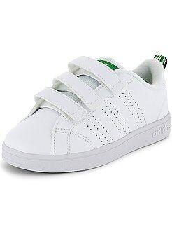 Niño 10-18 años Zapatillas deportivas con velcros 'Adidas VS Advantage Clean'