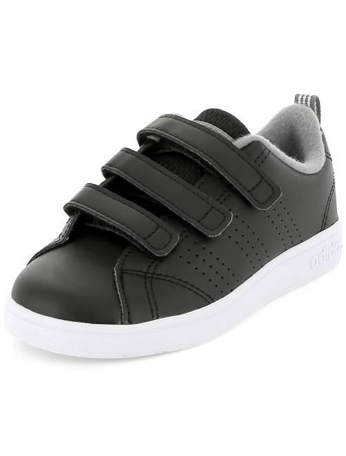 Zapatillas deportivas con velcros 'Adidas VS Advantage Clean'                                         negro Chico