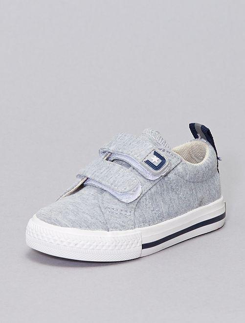 Zapatillas deportivas con velcros 'Beppi'                             BEIGE