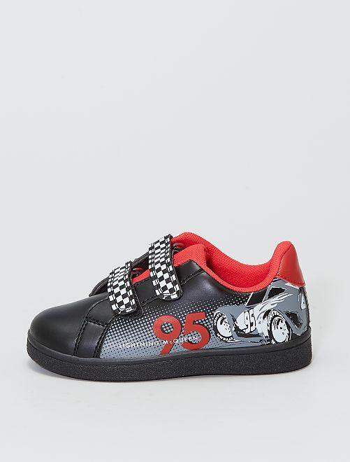 Zapatillas deportivas con velcros 'Cars' 'Disney' 'Pixar'                             negro