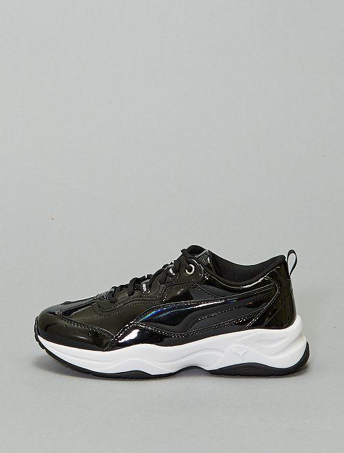 Zapatillas deportivas de charol 'Puma'                                         BEIGE