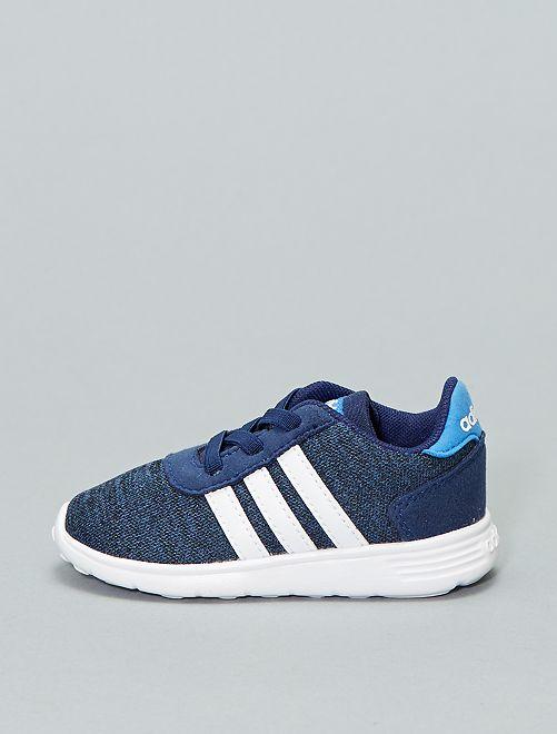 Zapatillas deportivas de dos materiales 'Adidas'                                         AZUL
