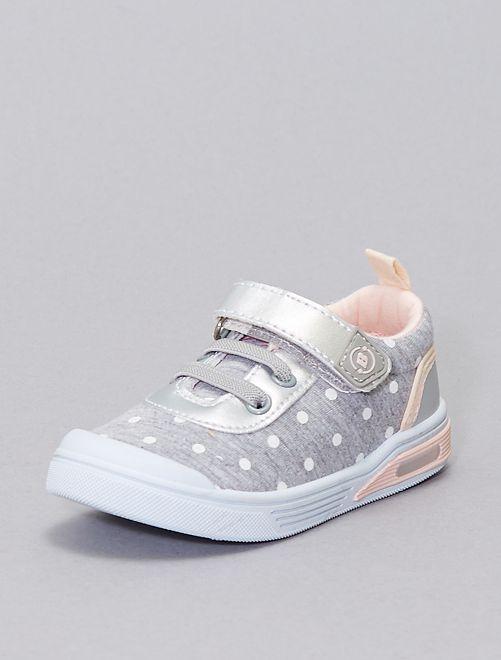 Zapatillas deportivas de lunares 'Beppi'                             BEIGE