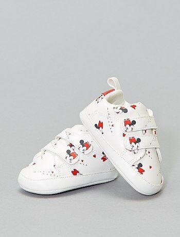 2c9f2753 Niña 0-36 meses - Zapatillas deportivas de 'Minnie' con velcro - Kiabi