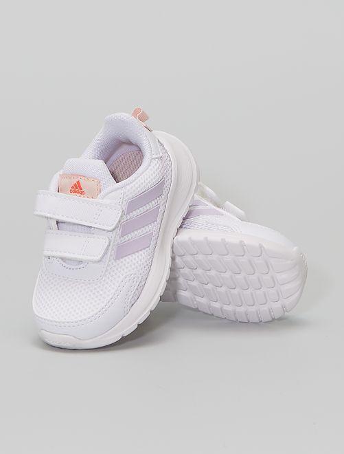 Zapatillas deportivas de running con velcros 'adidas Tensaur Run C'                             BLANCO