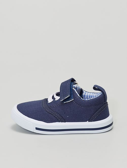 Zapatillas deportivas de tela                             AZUL