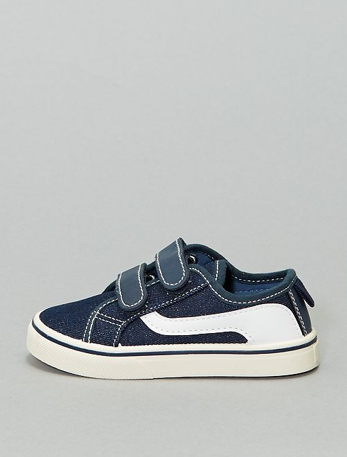 Zapatillas deportivas de tela                                 azul navy