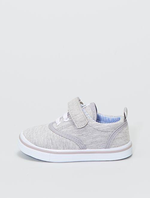 Zapatillas deportivas de tela                             BEIGE