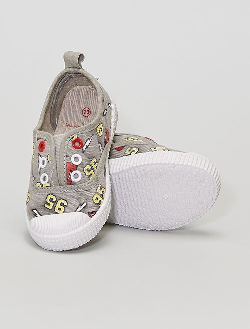 Zapatillas deportivas de tela 'Cars'                             gris