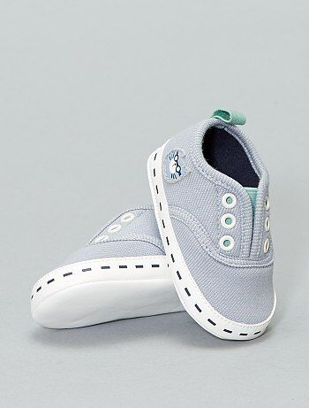 Niño 0-36 meses - Zapatillas deportivas de tela de  gato  - Kiabi daf0d199554