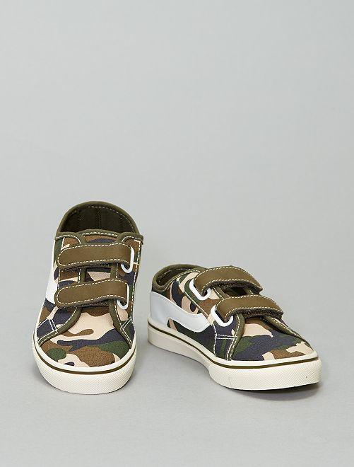 Zapatillas deportivas de tela                                                     estampado