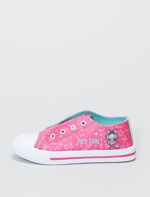 Zapatillas deportivas de tela 'L.O.L. Surprise!'                             rosa