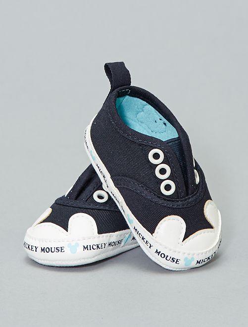 Zapatillas deportivas de tela 'Mickey Mouse' de 'Disney'                             azul Bebé niño