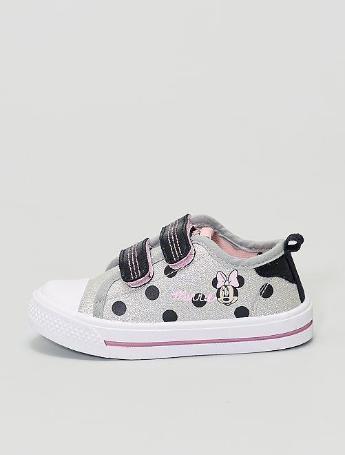 Zapatillas deportivas de tela 'Minnie' 'Disney'                             gris