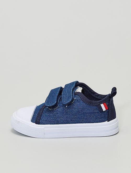 Zapatillas deportivas de tela vaquera                             denim