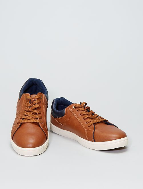 Zapatillas deportivas de vestir                             castaño