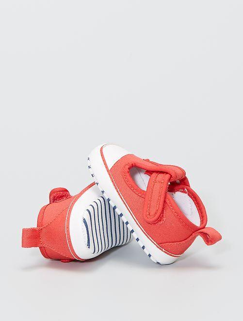 Zapatillas deportivas descubiertas                             AZUL