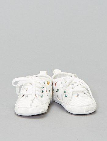 83c8ef67 Niña 0-36 meses - Zapatillas deportivas estampadas 'verduras' - Kiabi