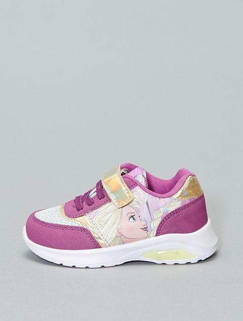 Zapatillas deportivas luminosas 'Disney' 'Frozen'                             violeta Chica