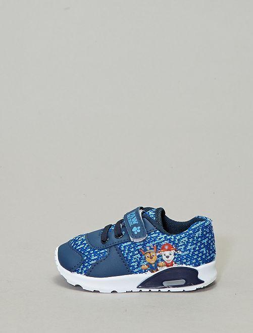 Zapatillas deportivas luminosas 'La Patrulla Canina'                             azul navy