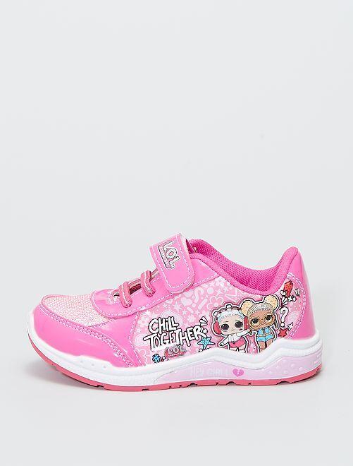 Zapatillas deportivas luminosas 'L.O.L. Surprise!'                             rosa