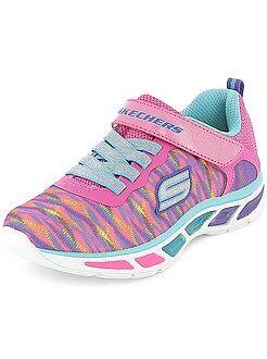 Zapatos niña - Zapatillas deportivas luminosas 'Skechers' - Kiabi