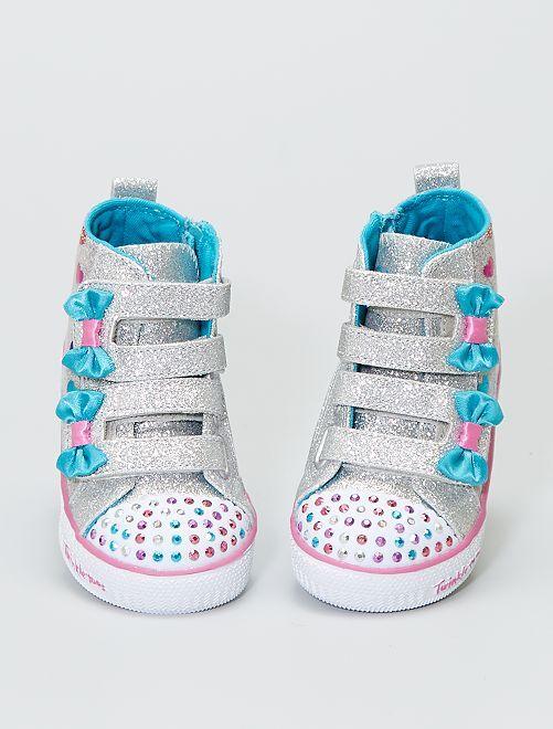 Zapatillas deportivas luminosas 'Skechers' 'Twinkle Toes'                             BEIGE