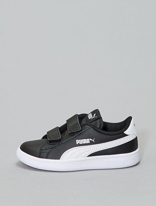 Zapatillas deportivas 'Puma' 'Smash v2 L V PS'                                 NEGRO