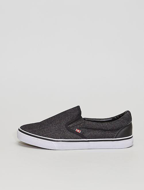 Zapatillas deportivas 'slip-on'                             gris