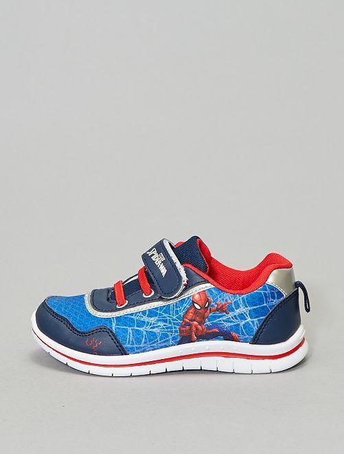 Zapatillas deportivas tipo bowling 'Spider-man'                             azul