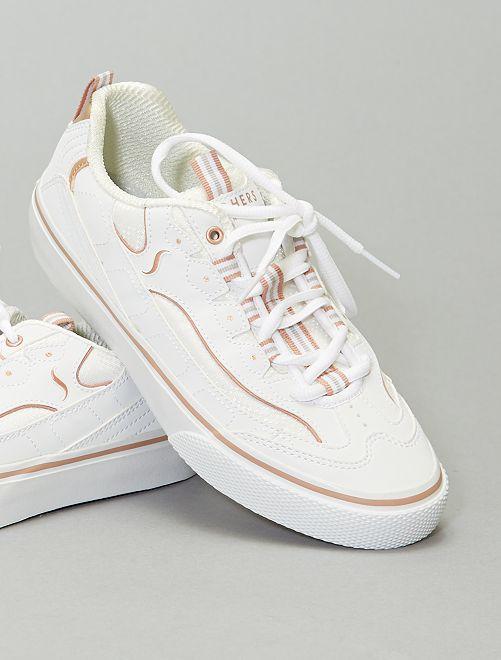 Zapatillas deportivas tipo running                             blanco